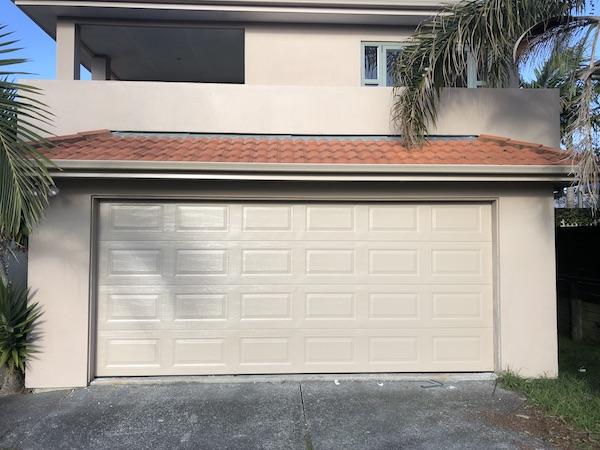 Pressed Panel - Sectional Garage Door - Auckland