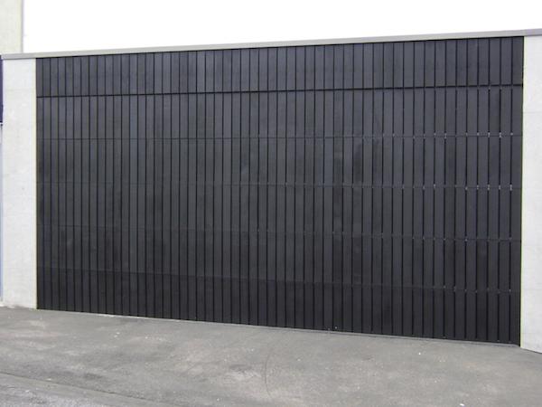 Custom Cedar Garage Door - Knight Garage Doors