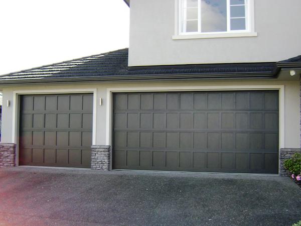 Ply & Batten Cedar Garage Door - Knight Garage Doors